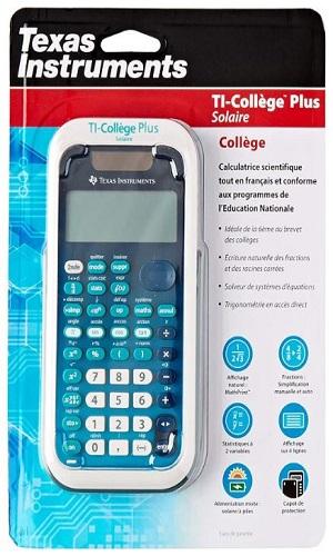 calculatrice texas instrument ti college plus calculatrice scientifique en ligne piger-lesmaths
